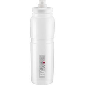 Elite Fly Drinking Bottle 950ml clear/grey logo